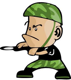 插图 插画 人物 战士 军人