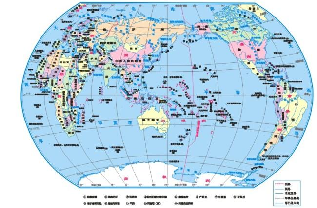 世界地图矢量图免费下载-千图网www.58pic.com