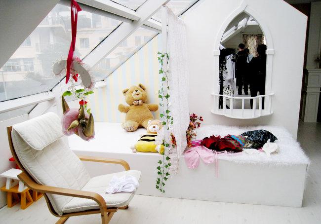 韩式儿童影楼影棚设计图片