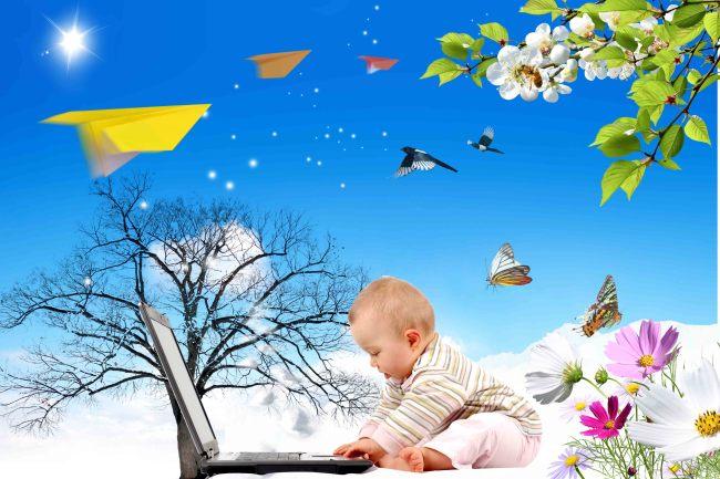 小孩玩电脑免费下载
