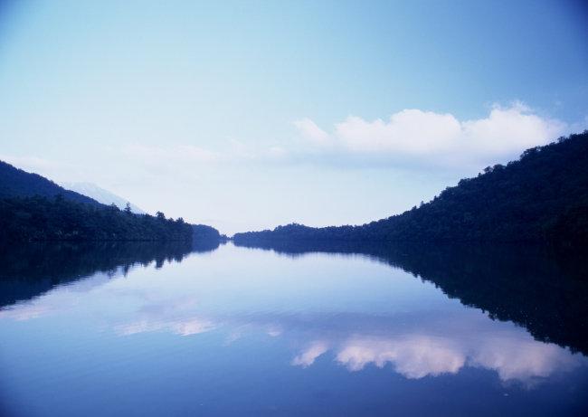 风景 自然 山水 剪影