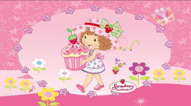 卡通人物小女孩蛋糕