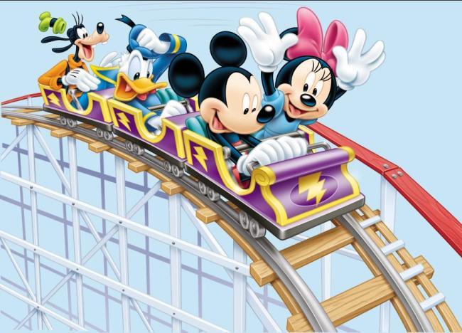 摩天轮游乐园 游乐园 乐园 迪士尼游乐园 迪士卡 迪士尼卡通 卡通