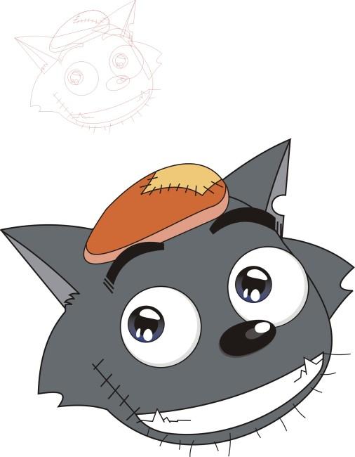 卡通 灰太狼 图片
