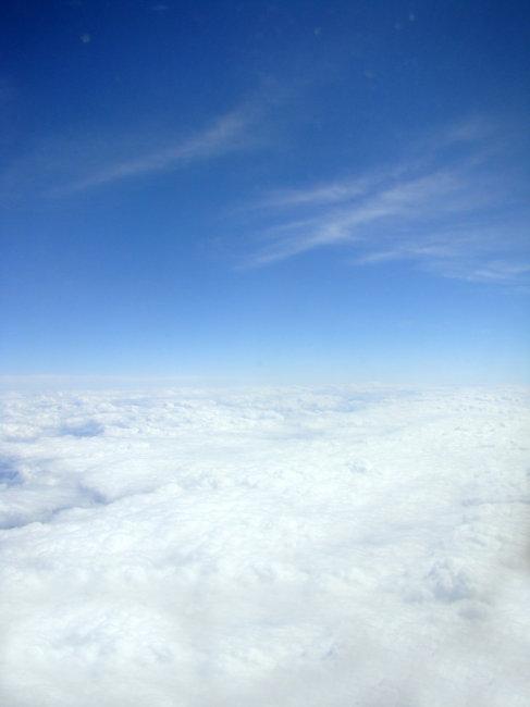 美丽晴朗的天空图片图片