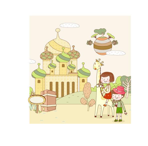 韩国插画 卡通插画