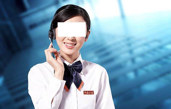 客服人员免费下载 美女微笑女性女人300dpi客服人员