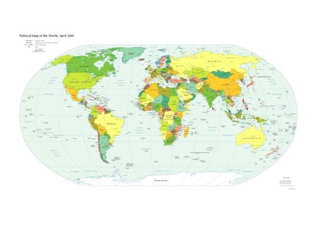 世界地图清晰版