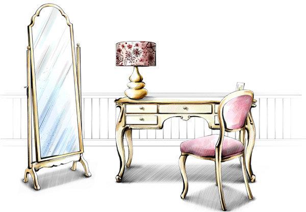 桌椅 桌子 椅子