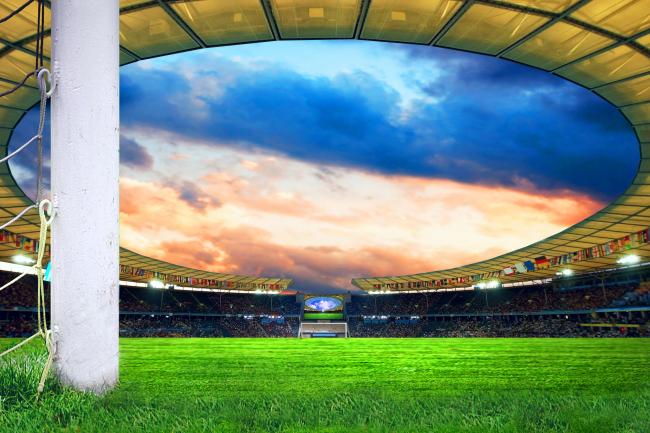 足球场高清图片