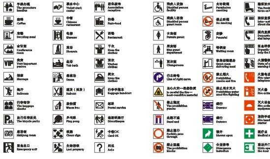 公共信息图形符号
