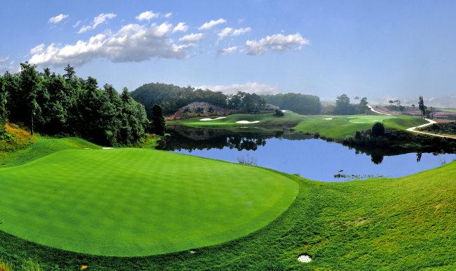 天湖岛高尔夫球场图片