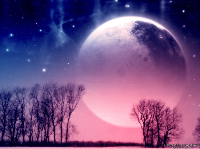 月亮 月亮形 月亮背景