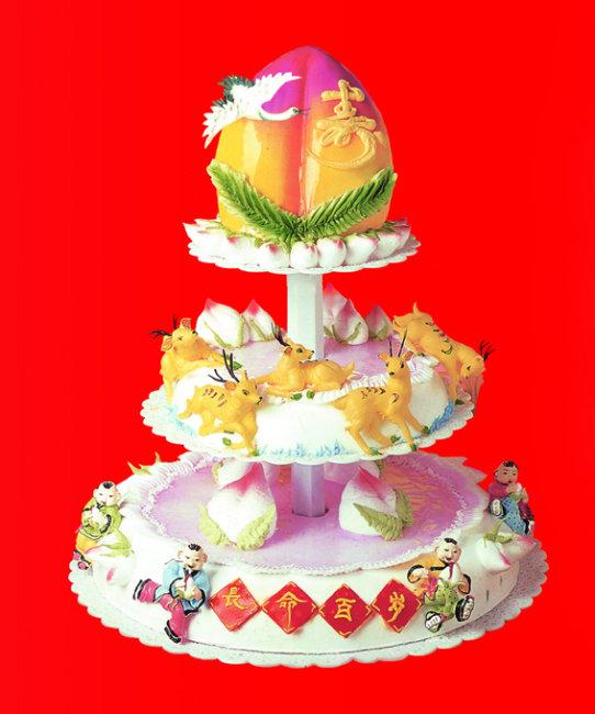 生日蛋糕图片 生日蛋糕设计图片