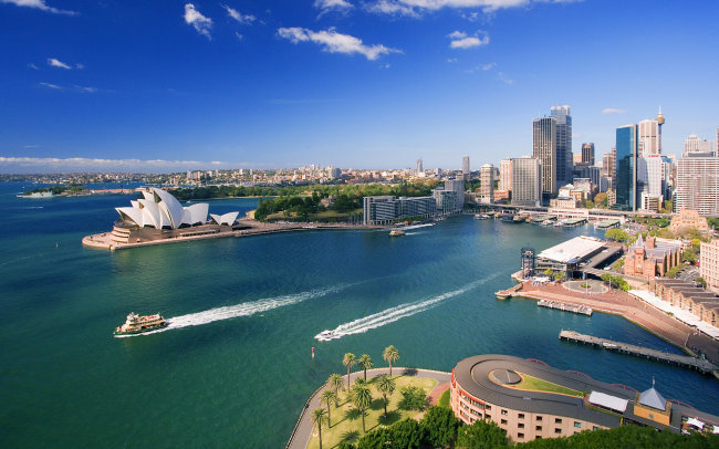 us 澳大利亚 悉尼 风景