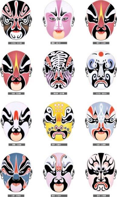 京剧脸谱 脸谱