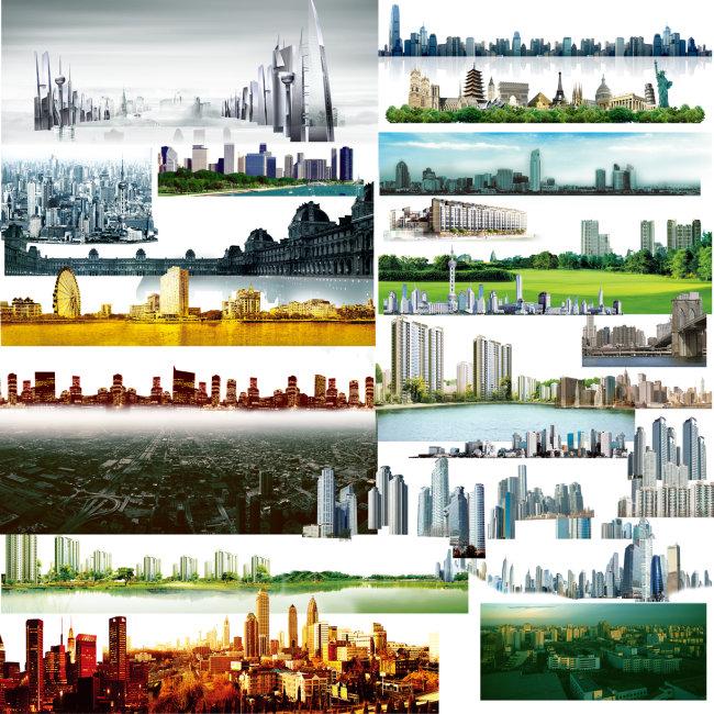 全套城市建筑