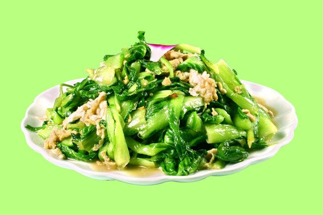 虾酱小白菜