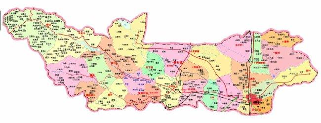 河北省沙河市地图