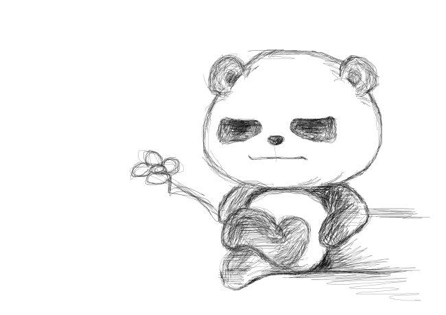 当前位置: 首页 最新素材 图片素材 卡通|动漫|可爱图片 手绘熊猫  加