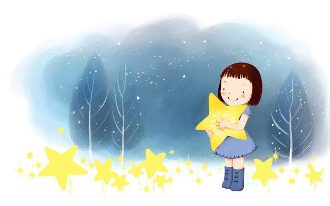 童话世界 可爱卡通 可爱卡通图片 可爱卡通女孩 可爱卡通背景图片