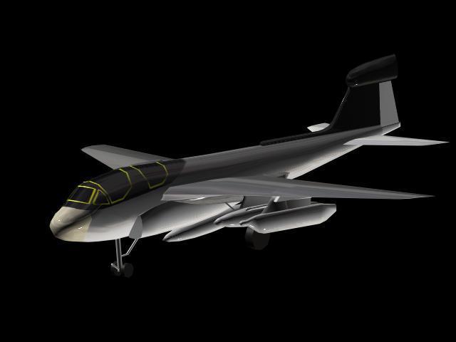 ea6b免费下载 ea6b 电子战飞机模型