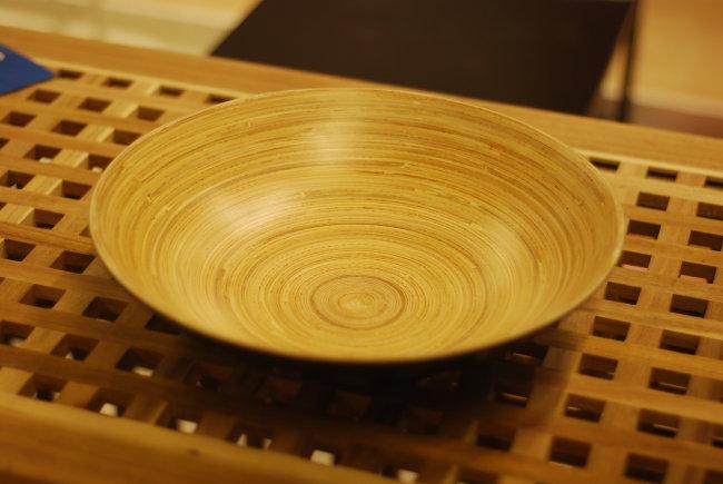 好看的木盘餐具