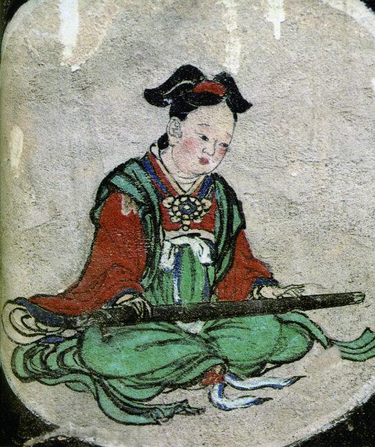 古代美女弹琴图片图片素材免费下载 千图网www