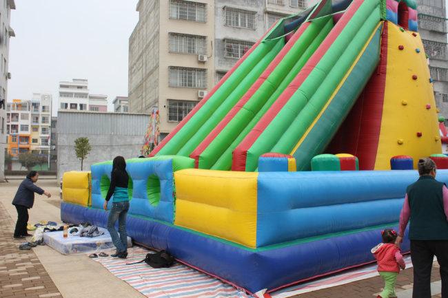 充气 游乐 游乐园元素 游乐设施