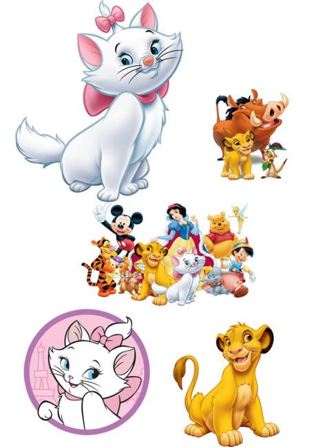 公主 迪士尼公主 迪斯尼公主 维尼熊 小熊维尼 维尼 可爱卡通 动漫