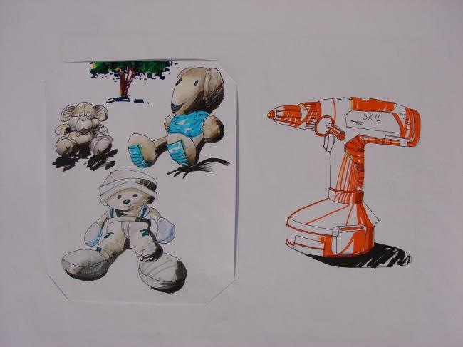 手绘 玩具