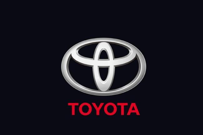 丰田 汽车 标志 高清 矢量图