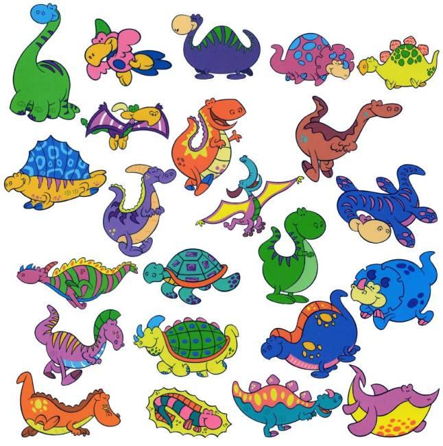卡通小恐龙 可爱卡通动物