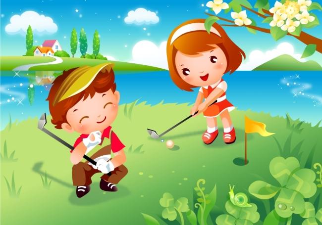 校园文化幼儿园卡通文化墙背景
