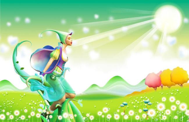 梦幻国度 魔幻精灵 植物精灵 卡通人物