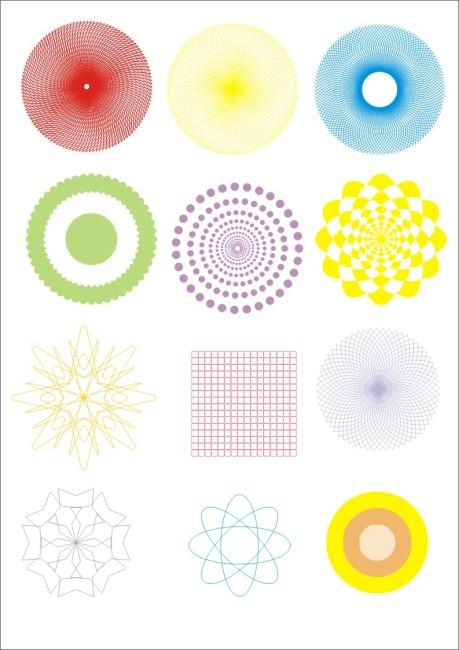 几何图 几何图案 几何背景 仿伪图案 底纹 底纹背景 矢量图 简单 简单图片