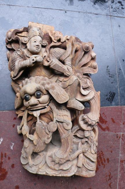 木雕图片素材 jpg图片素材 传文化文件 古老的 徽州木雕 木雕动物人物