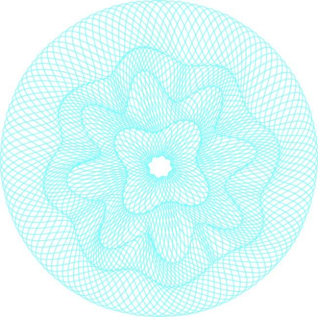 首页 最新素材 矢量图 花纹花边 防伪团花底纹