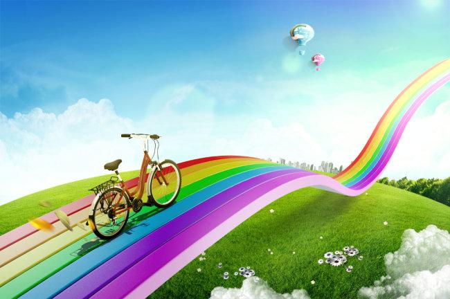 阳光彩虹新视野