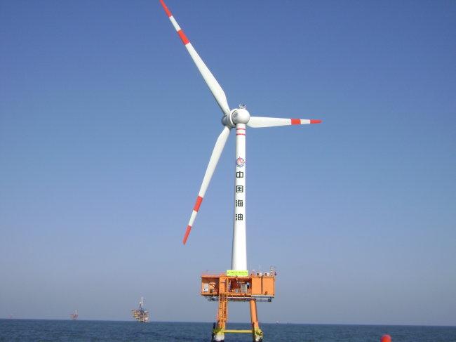 海上风机 风电 绿色能源 低碳