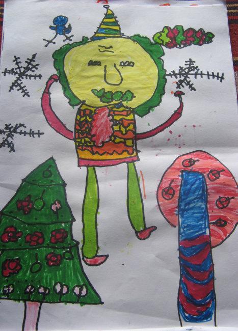 儿童创意画(4岁)