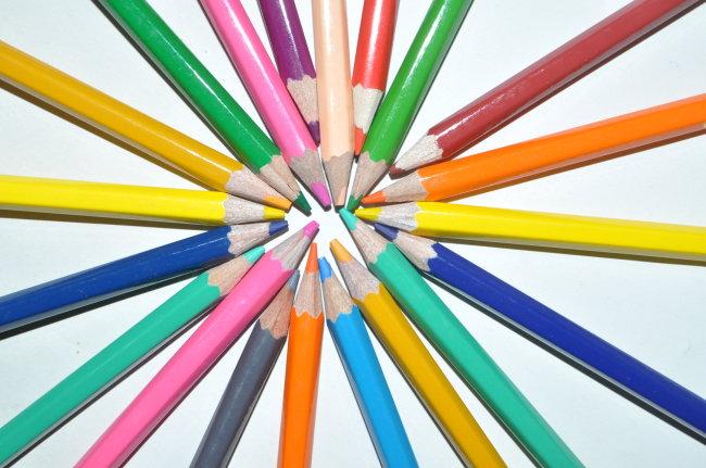 3d彩铅手绘文化用品