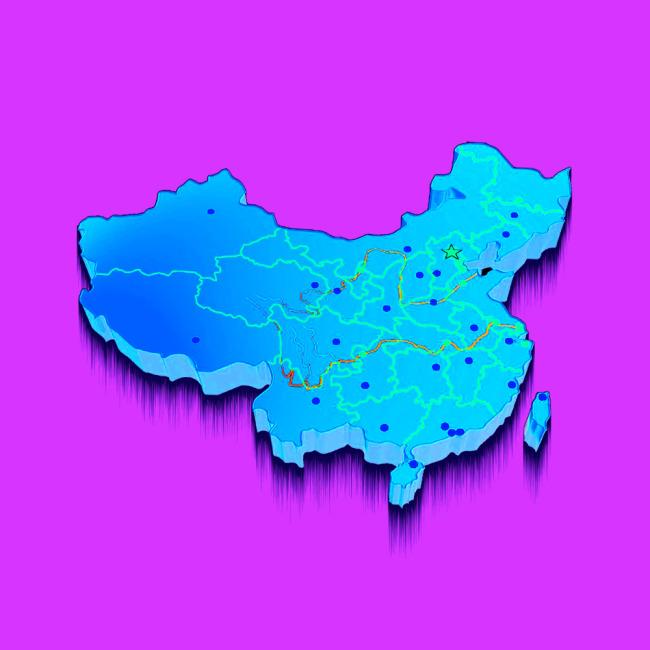 全国地图矢量图中国地图轮廓矢量图中国地图矢量图