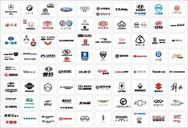 汽车 汽车标志 标识 矢量图免费下载-千图网ww
