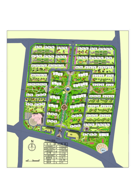 小区 居住区 规划图 景观 平面图 规划设计