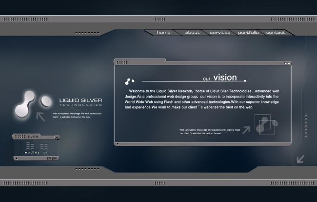 网页制作模板免费下载
