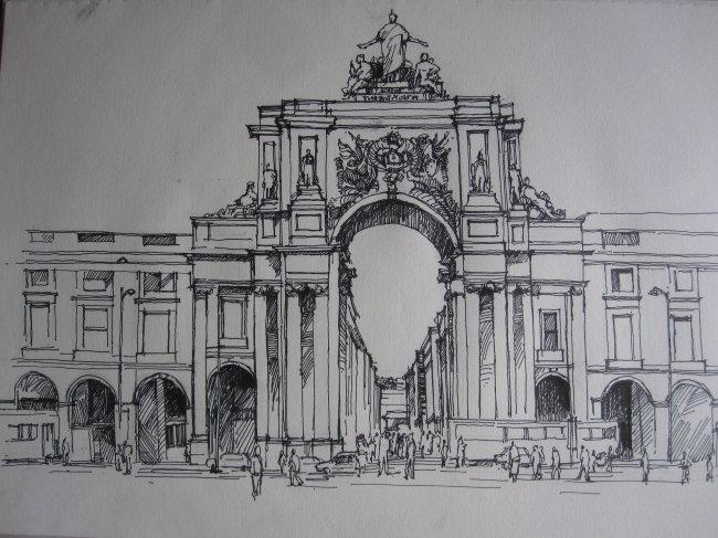 欧洲 建筑 欧洲建筑 教堂 教堂建筑 欧洲教堂建筑 手绘 手绘建筑