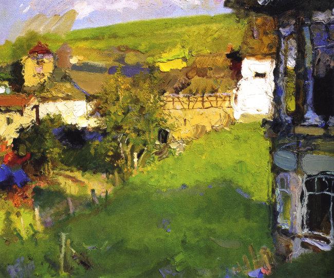 欧洲乡村油画免费下载