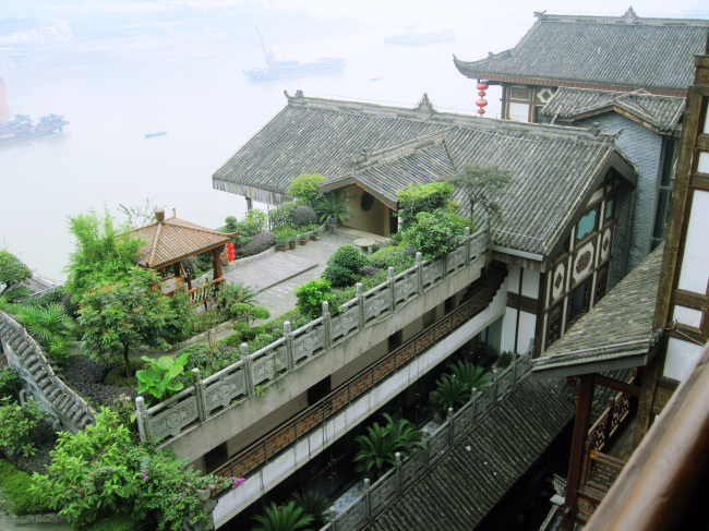 古典建筑 中国 古典 建筑 古代 飞檐 巷子 房子 窗棂 瓦檐 黄昏 园林