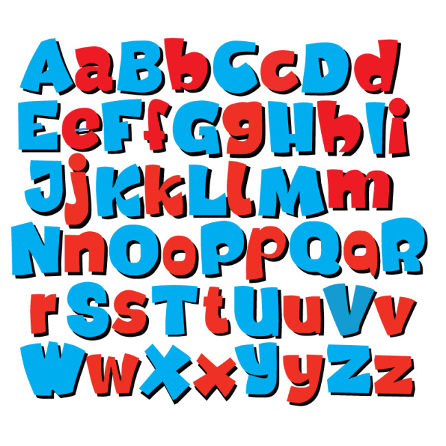 pop创意字母图片